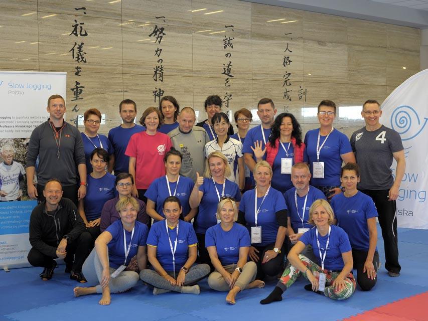 grupa instruktorów na szkoleniu certyfikującym 2018
