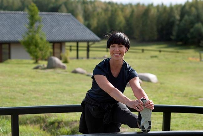 portret ANNA WRZESIEŃ-BEREZOWSKA instruktorka slow joggingu, joginka, wielbicielka i propagatorka slow life