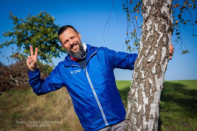 portret Marcin Bocheński instruktor slow joggingu