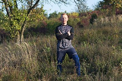 portret Grzegorz Kroczak